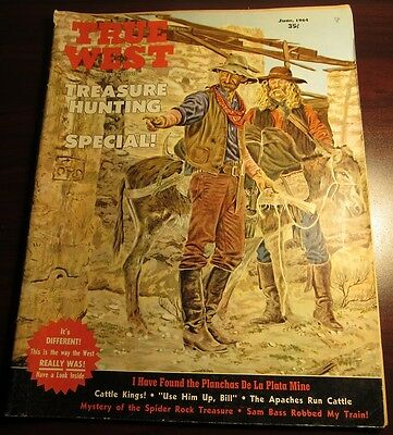 True West Magazine June 1964 - Treasure Hunting Special