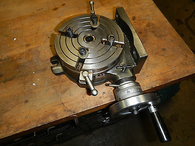 Small Rotary Table For Milling Machine Machinist Tooling Jig Fixture