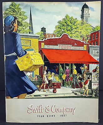 Swift & Company 1947 Year Book Annual Report 24 Page Illustrated