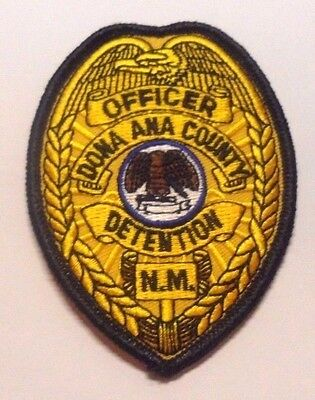 Dona Ana County New Mexico Detention Officer Hat Vest Patch Unused