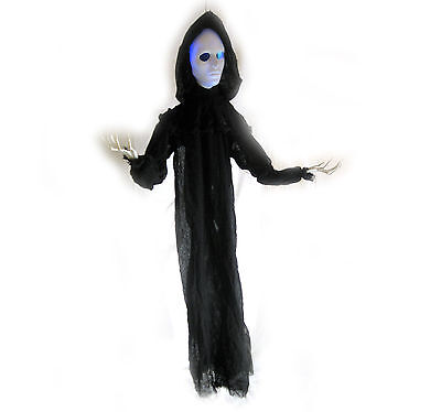 """Scary Slender Man Ghost Color Lighted Hanging Halloween Haunted House Prop 56"""""""
