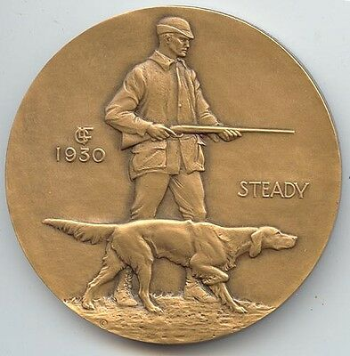 Society of Medalists #1 (1930), Hunter With Dog / Ruffled Grouse,Laura Fraser