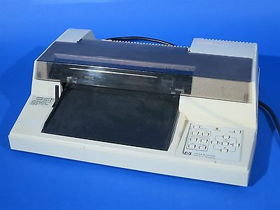 HP 7470A Plotter Powers On - Appears to work