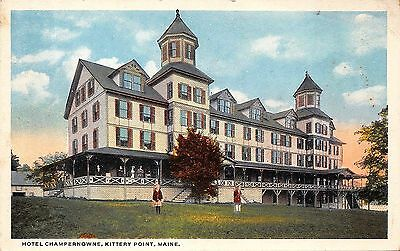 H285       Kittery  Point,  Me.    Postcard,  Hotel  Champernowne
