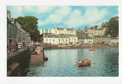 Scotland, Portree From The Harbour, Skye Old Postcard, A470
