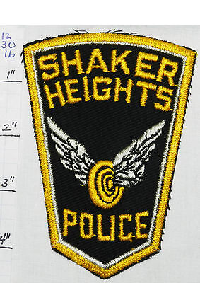 Ohio, Shaker Heights Police Dept Patch