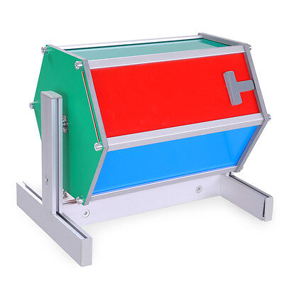 Rotating Raffle Drum Fortune Lottery Ticket Spin Game Carnival Party Aluminum