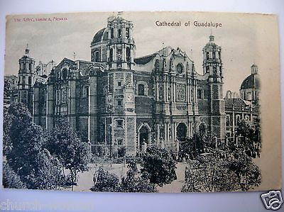 Catholic 1909 Postcard Our Lady of Guadalupe Chapel Shrine Church Mexico Lot #12