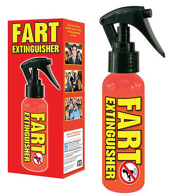 27395 FART EXTINGUISHER SPRAY 100ml AIR FRESHENER GET RID OF BAD SMELLS NOVELTY