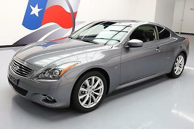 2014 Infiniti Q60  2014 INFINITI Q60 JOURNEY PREMIUM SUNROOF NAV HTD SEATS #111666 Texas Direct