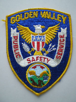 Minnesota Golden Valley police patch MN