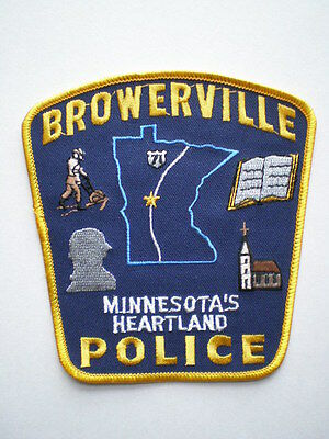 Minnesota Browerville police patch MN