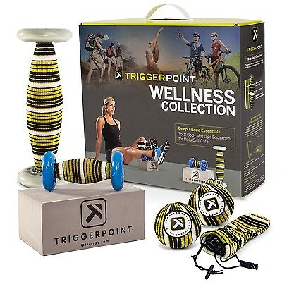 Trigger Point The Wellness Collection Roller Set Brand New In Box