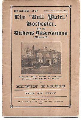 The Bull Hotel, Rochester and Dickens 1908