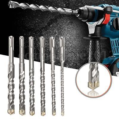 SDS Plus Masonry Hammer Drill Bits For Bosch Concrete Tungsten Carbide Tip 160mm