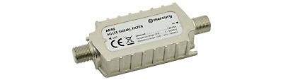 Mercury 4G LTE In-Line Signal Filter Eliminates Interference & Channel Loss