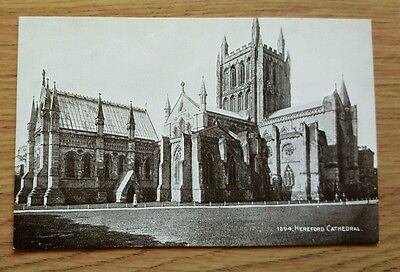 Unposted PPC of Hereford Cathedral