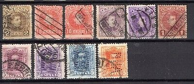 Spain , 1900, Selection Of Used Type 52....