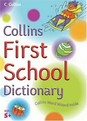 0007203535 Very Good Collins Primary Dictionaries - Collins First School Diction
