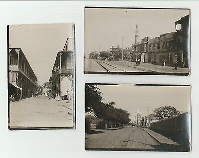 COLLECTION OF 5 x VINTAGE UNCAPTIONED POSTCARDS. POSSIBLY EGYPT ???