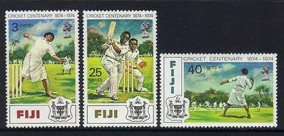 Fiji 1974 Cent Of Cricket U/m
