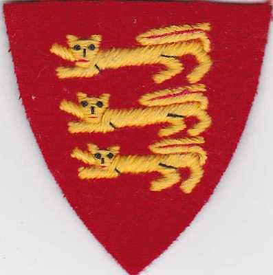 WWII, British Force 135 Channel Islands Liberation Shoulder Patch