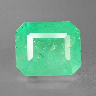 5.07 Cts Fancy Quality Rich Green Color Natural Colombia Origin Emerald