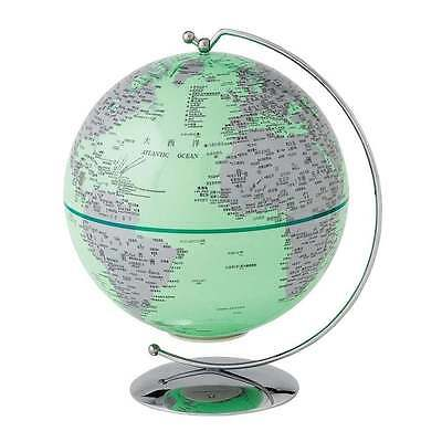 Globe Collection Green Light-Up Mini Globe New Boxed A27304
