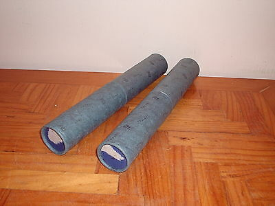 2 x ANTIQUE RETIREMENT SCROLLS BY STAFEX