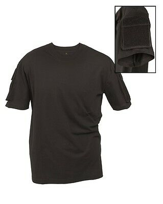 Mil-Tec Tactical T-Shirt Schwarz Airsoft Paintball Military Army Outdoor S-3Xl