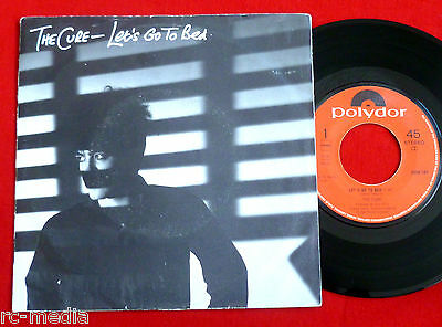 "THE CURE -Let's Go To Bed- Original Dutch 7"" +Textured Sleeve"