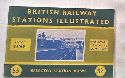 British Railway Stations Illustrated, Book One Cornwall,devon & Somerset, 1947
