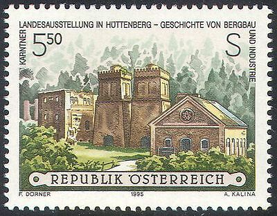 Austria 1995 Mining/Steelworks/Industry/History/Buildings/Architecture 1v n42007