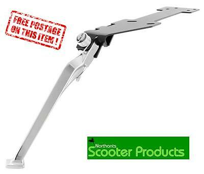 Sip Side Stand Chrome  Quality Side Stand Fits Vespa Px 125