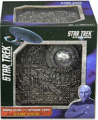 Star Trek Attack Wing Borg Cube with Sphere Port