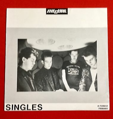 "THE CURE -Singles- Rare Australian Unique 4 Track 12"" EP on Stunn (Vinyl Record)"