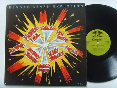 "REGGAE STARS EXPLOSION Various Artists 12"" LP 1985"