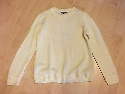 NEW LOOK MATERNITY Cream Soft Knit Winter Jumper 14 FANTASTIC CONDITION