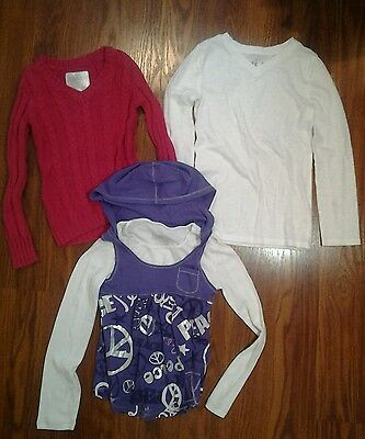 Girls Justice Shirt lot  Size 6