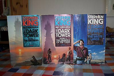 STEPHEN KING; 1st Publication of The Dark Tower trilogy;