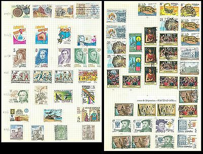 J Spain B23 used 65v Fine Art Painting Persons Stamp on Stamp