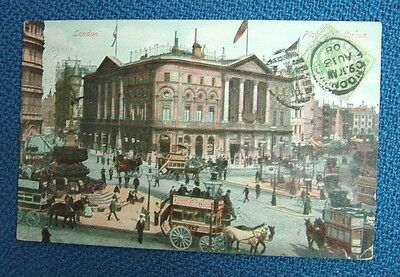 London, Piccadilly Circus  (Ducal Series, C. M. & Co, London)  -  c1908