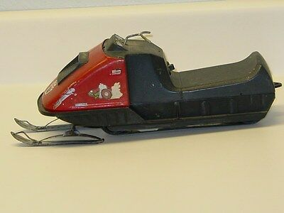 Vintage Normatt Snowmobile, Toy, Battery Operated, Repaint