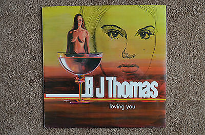 "B.J. Thomas LP ""Loving You"" Crazy Cajun 1092, SEALED"