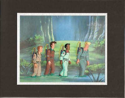 Real GHOSTBUSTERS Original Production Animation Art Cel DIC 3*