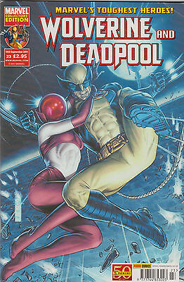 Wolverine And Deadpool #23 - [2011 Exc Con]