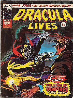 Dracula Lives - 1974/75 1St Collectors Issue!