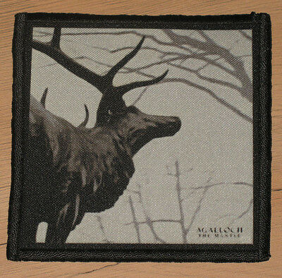"""AGALLOCH """"THE MANTLE"""" silk screen PATCH"""