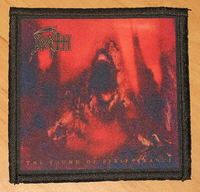 """DEATH """"THE SOUND OF PERSEVERANCE"""" silk screen PATCH"""