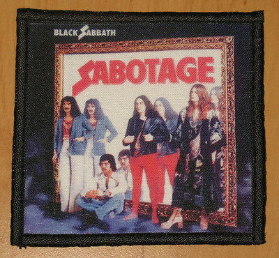"BLACK SABBATH ""SABOTAGE"" silk screen PATCH"